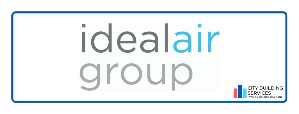 Ideal Air Group Logo. Ideal Air Group partnership with City Building Services.